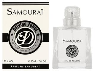 サムライから新作! メンズ香水=ドライビングフォース レディース香水=ドルチェストロベリー